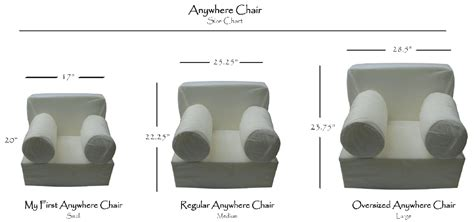 anywhere chair oversize insert for pottery barn kids chair