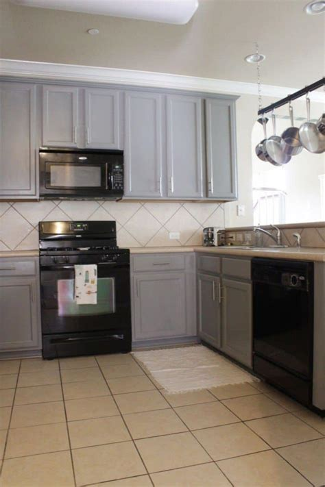 gray kitchen cabinets with stainless steel appliances fashionable and sophisticated kitchen black appliances