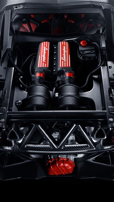 wallpaper lamborgini engine  opened racing