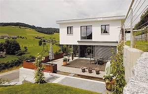 Haus Am Hang Bauen Stützmauer : haus hanglage modern ~ Lizthompson.info Haus und Dekorationen