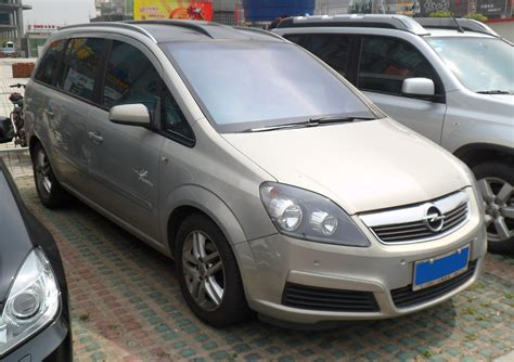 Opel Zafira Specs by 2012 Opel Zafira B Pictures Information And Specs