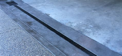 garage drainage solutions garage drainage solutions