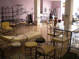 sublimes meubles marocains en fer forge casablanca With salle a manger fer forge maroc