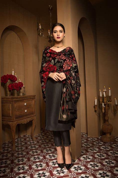 pin  seema yadav  black simple pakistani dresses