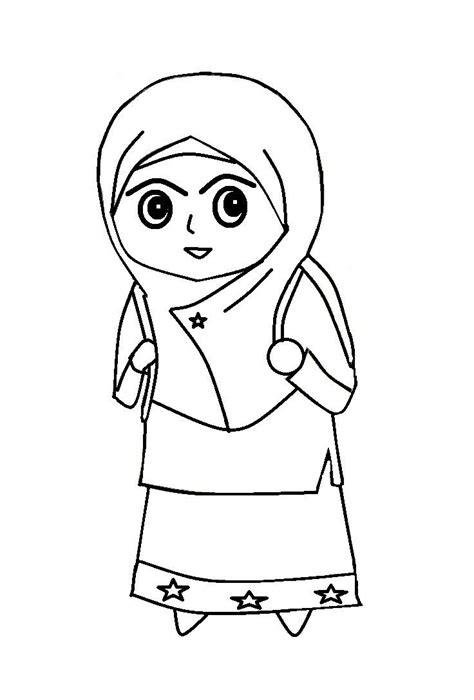gambar lukisan kartun perempuan cikimm