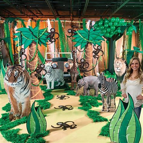 jungle safari theme party decorations shindigz diy