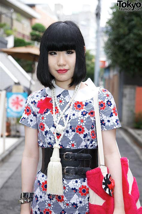 Japanese Girl Rising Sun Purse Chicago Resale Dress