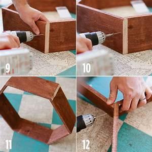 DIY Honeycomb Shelves – A Beautiful Mess