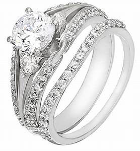 wedding ring set on sale white gold with diamonds With diamond wedding ring sets on sale