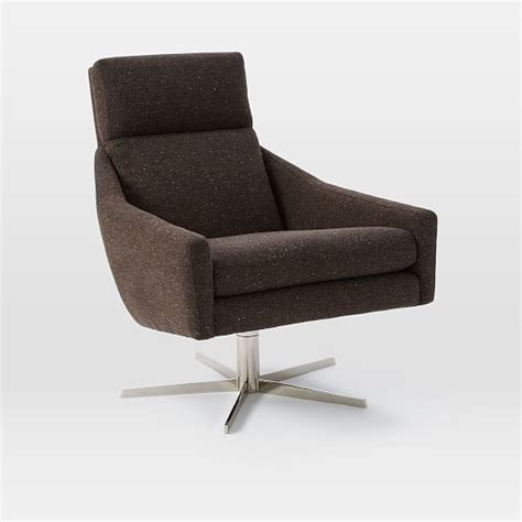 swivel armchair west elm