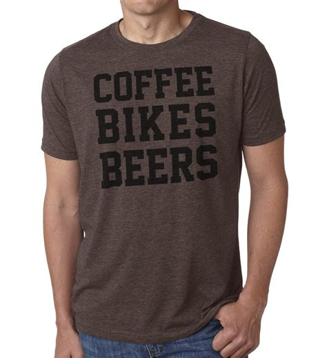 Outfits such as these are easily paired with when buying waiter shirt with logo at alibaba.com, certain aspects can easily be customized for its benefit. Coffee Bikes Beer - Cycling T Shirts   SFC   Casual Cycling Clothing