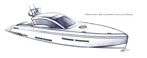 How To Draw A Power Boat by Speed Boats Drawing Www Pixshark Images Galleries