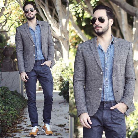 Kemeja Topman Pocket Denim reinaldo irizarry topman blazer topman shirt levi s