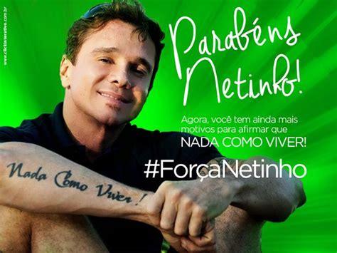 Netinho é homenageado no dia do aniversário - Band.com.br
