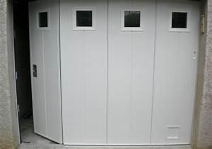 installer une porte de garage manuelle ou electrique a With porte de garage enroulable jumelé avec ouverture de porte paris 1