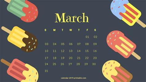 march  desktop background calendar calendar