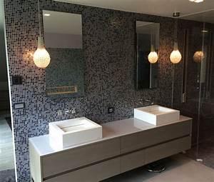 Plan De Travail Salle De Bain : plan de travail en verre salle de bain vitrerie david ~ Dailycaller-alerts.com Idées de Décoration