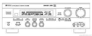 Yamaha Rx-v596 - Manual - Audio Video Receiver