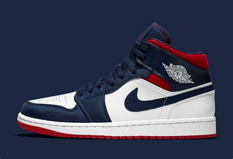 Air Jordan 1 Mid Usa Is Available Now House Of Heat