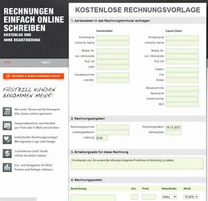 Rechnung Schreiben Programm Kostenlos : rechnung online schreiben kostenlos im web rechnungen ~ Themetempest.com Abrechnung