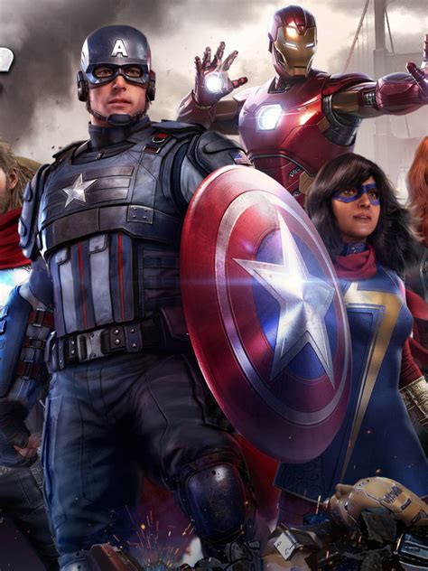 768x1024 Marvel's Avengers Video Game 768x1024 Resolution ...