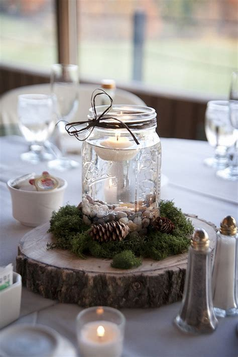 18 gorgeous mason jars wedding centerpiece ideas for your