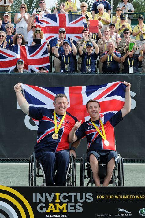 Invictus Games Orlando 2016  Day 4  Wheelchair Tennis