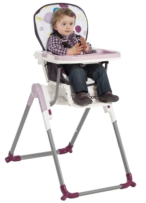 babymoov chaise haute slim prune doudouplanet