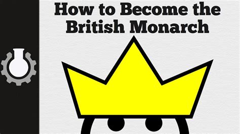 How To Become The British Monarch Youtube
