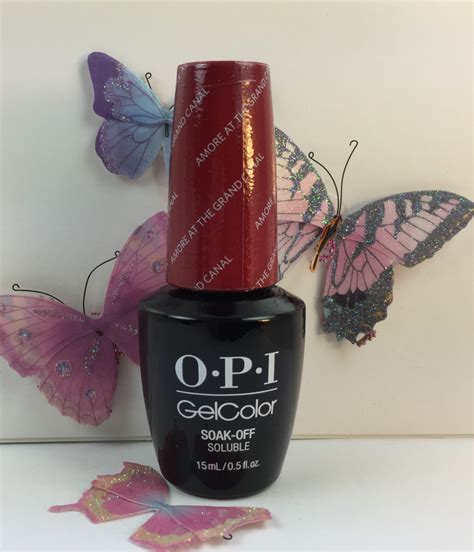 Opi Uv L Nz by Opi Gelcolor Venice Collection At The Grand Canal