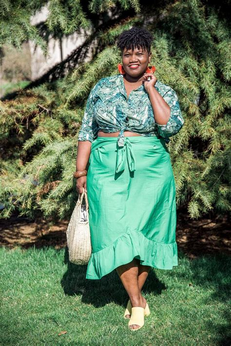 Grown And Curvy Woman Where Style Has No Age Or Size
