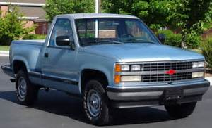 1989 Chevrolet Pickup K1500  4x4  Stepside  1 Owner  Shortbox