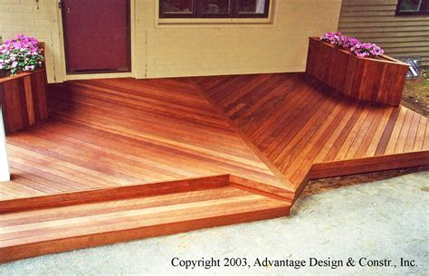 Eight Tips for Maintaining Your Mahogany Deck ? Suburban