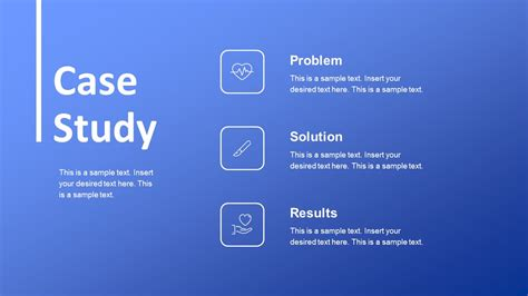 medical case study powerpoint template slidemodel
