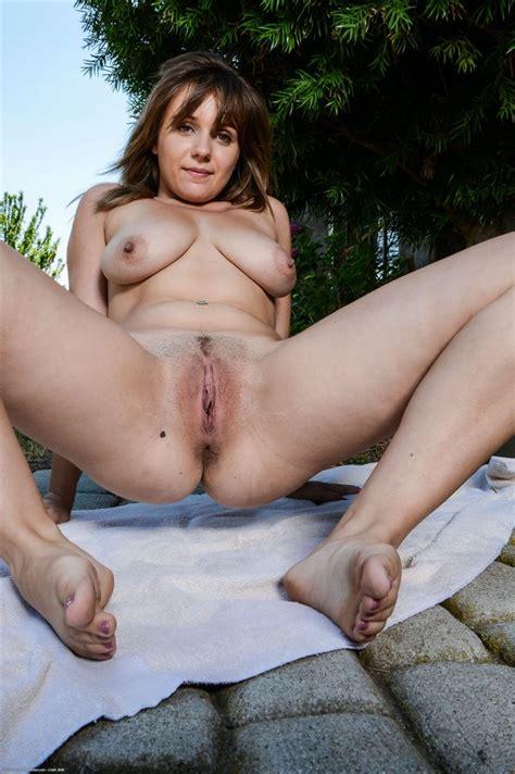 Chrissy Nova Shows Off Her Naked Body In The Garden Atk