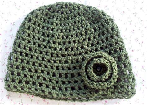 easy crochet easy crochet flower hat pattern dancox for