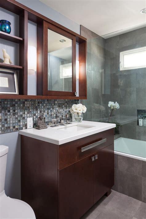 wonderful small bathroom remodel ideas  niche glass shower
