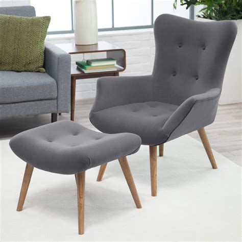 oversized accent chair and ottoman oversized reading chair at com gallery including modern