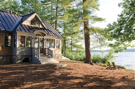 Lakefront Houses Photo by Breathtaking Lakefront Summer Getaway In Maine