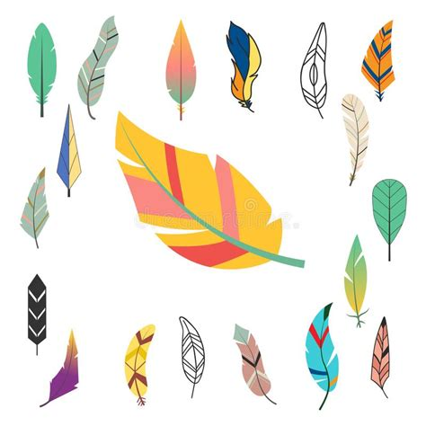 Abstract Vector Decorative Nature Ethnic Hand Stock