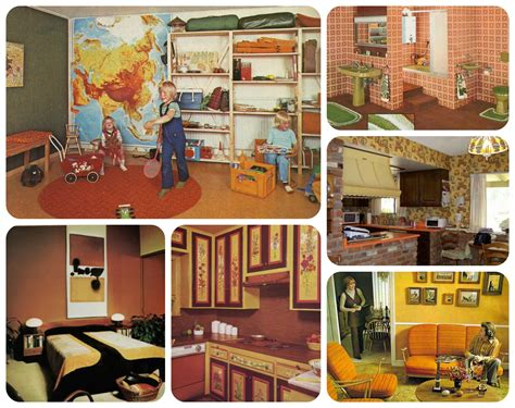 Home Decor 60s : 50's, 60's, And 70's