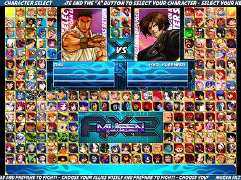 1.0 Mugen Ax2 Screenpack(640,480