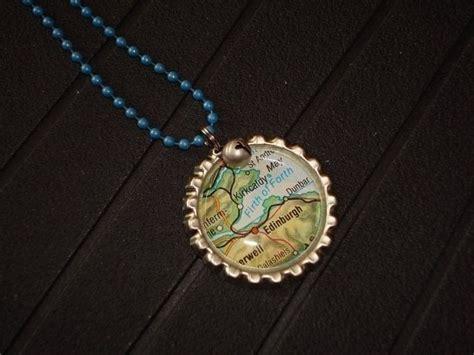 bottle cap necklace     bottle cap pendant