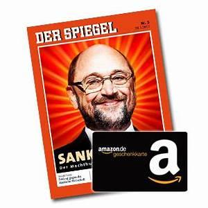 Amazon Gutschein Prüfen : bonus deal 6x der spiegel f r 19 90 19 gutschein geschenkt ~ Markanthonyermac.com Haus und Dekorationen