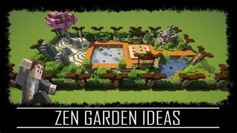 oriental zen garden ideas japanese chinese minecraft tutorial video youtube zen garden