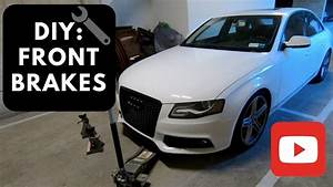 Longueur Audi A4 Break : diy audi a4 b8 front brake pads and brake rotors replacement 2009 2015 youtube ~ Medecine-chirurgie-esthetiques.com Avis de Voitures