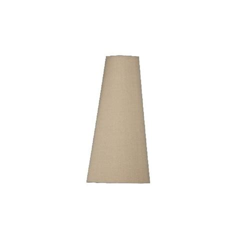 cone shaped table l shades impala cone shaped silk l shade in tan colour