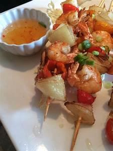 Shrimp skewer appetizer. - Yelp