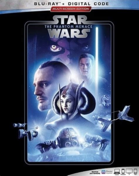 wars blu ray star phantom menace covers movies bluray releases re headed revealed web