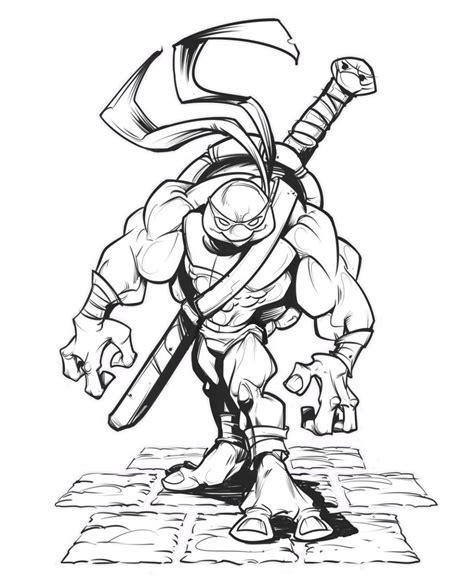 Tortuga Ninja HD DibujosWiki com